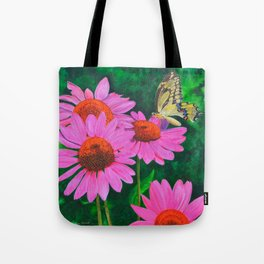 A Visitor In The Garden by Teresa Thompson Tote Bag