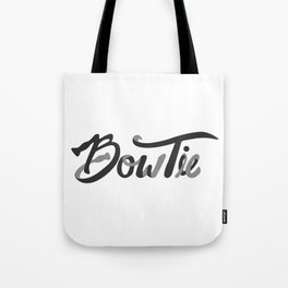 Bow Tie Letterform Tote Bag