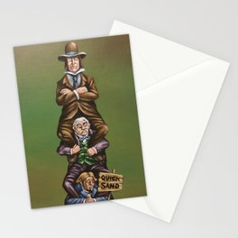 Haunted Mansion Portrait: Quicksand Stationery Cards
