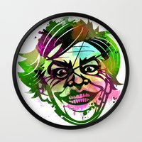 joker Wall Clocks featuring JoKER by BIG Colours