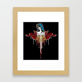 Day of the Dead Saint Framed Art Print