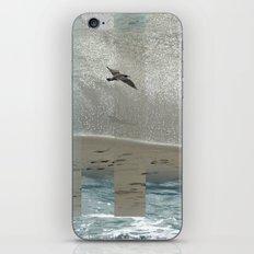 Geometric Sea Birds iPhone Skin