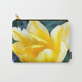 BRIGHT YELLOW TULIP Carry-All Pouch