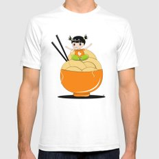noodle..noodle.. noodle!!! SMALL White Mens Fitted Tee