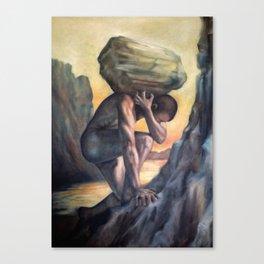Sisyphus Canvas Print