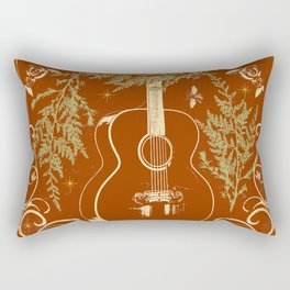 FESTIVE GUITAR Rectangular Pillow