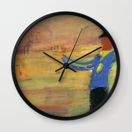 """The Swinger"" Wall Clock"
