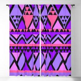 seamless purple pink pattern Blackout Curtain
