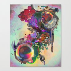 Vetiver Canvas Print