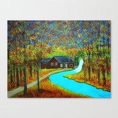 Autumn landscape 6 Canvas Print