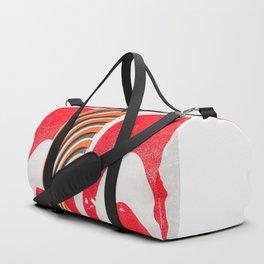 strawberries and cream (printed version) Duffle Bag