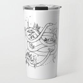 Embellished Snake Travel Mug