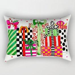 Presents! Rectangular Pillow