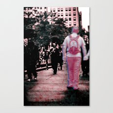 Corrupted Together Canvas Print