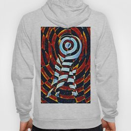7023-LB Interdimensional Target of Love Abstract Booty Up Hoody