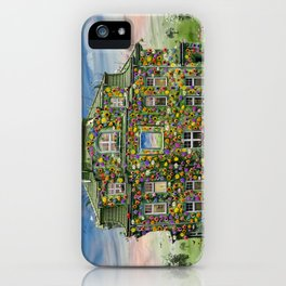 The Flowerhouse iPhone Case