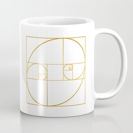 Golden Oval Coffee Mug