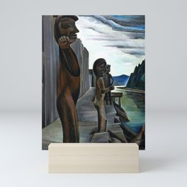 Emily Carr - Blunden Harbour - Canada, Canadian Oil Painting - Group of Seven Mini Art Print