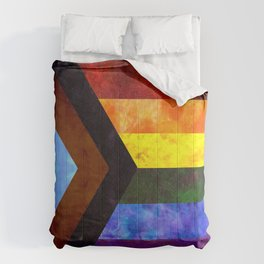 Progress Pride Quilt Comforters