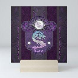 Beautiful chinese dragon Mini Art Print
