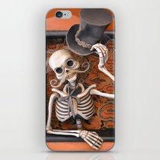 Rucus Studio Gentleman Skeleton iPhone & iPod Skin