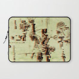 Illustration Mashup Laptop Sleeve