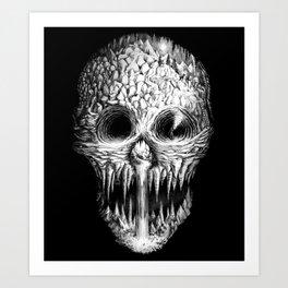 Skullunker Art Print