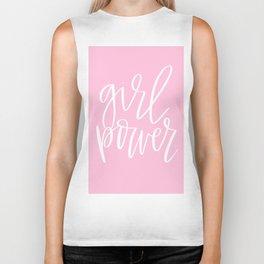 Girl Power by Bethany Kelm Biker Tank