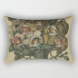 Crooked Bouquet Rectangular Pillow