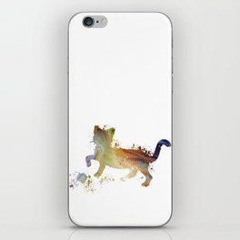 Cat art iPhone Skin