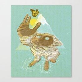 The End Of Hibernation Canvas Print
