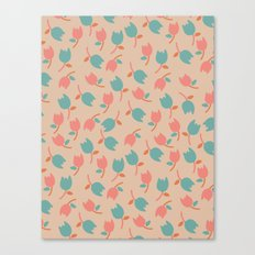 Floral Bit Canvas Print