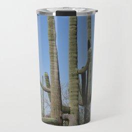 Giant cactus in Sagauro National Park Travel Mug