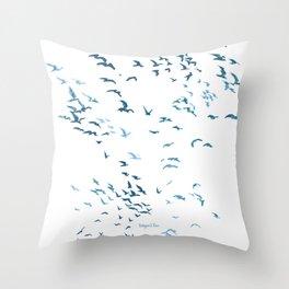 Flock Throw Pillow