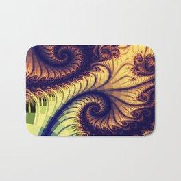 Abstract spirals and patterns Bath Mat
