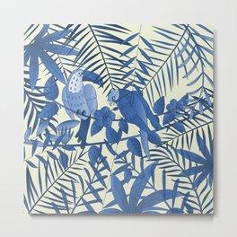 Tropical Paradise Pattern 5 Metal Print