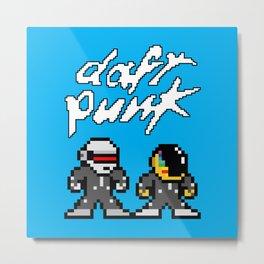 Daft Pixel Metal Print