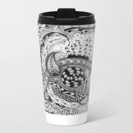 Zentangle®-Inspired Art - ZIA 22 Metal Travel Mug