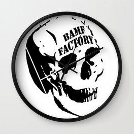 BAMF Factory! Wall Clock
