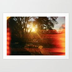 Love From Sunrise till Sunset Art Print
