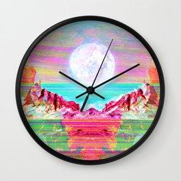 Moon's Cradle Wall Clock