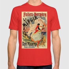 French belle epoque mime theatre advertising T-shirt