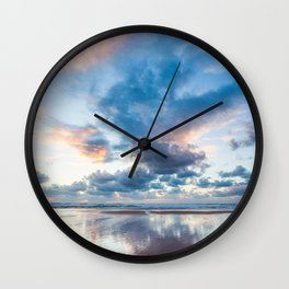 Colorful sunset 2 Wall Clock