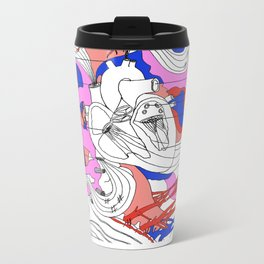 Musical Heart Metal Travel Mug