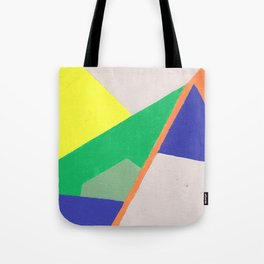 Abstract Angles Tote Bag