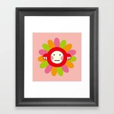 Redmon Flower Framed Art Print