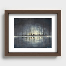 Water's Edge Recessed Framed Print