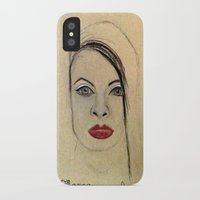 fierce iPhone & iPod Cases featuring Fierce by Darla Designs