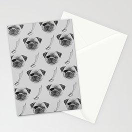 Koda the Pirate Pug Stationery Cards