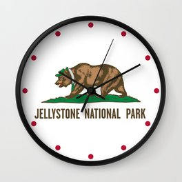 Jellystone National Park  Wall Clock